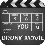 iPhone、iPadアプリ「DRUNK MOVIE〜あなたの思い出をエンドロールにのせて〜」のアイコン