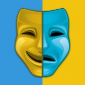 iPhone、iPadアプリ「顔 入れ替え : 可笑しい顔交換 、顔スワップ アプリ 、 顔チェンジャー」のアイコン