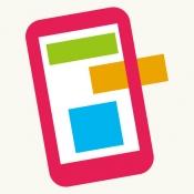 iPhone、iPadアプリ「クレヨン - ホームページ作成 | Crayon」のアイコン