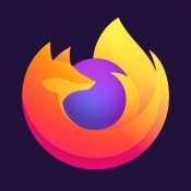 iPhone、iPadアプリ「Firefox ウェブブラウザー」のアイコン