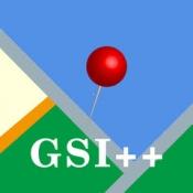 iPhone、iPadアプリ「GSI Map++(地理院地図++)」のアイコン