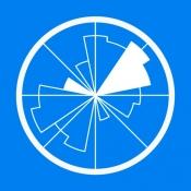iPhone、iPadアプリ「WINDY: 天気予報 - 風予報、風速」のアイコン