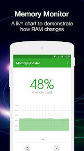 Androidアプリ「メモリブースター(Memory Booster)」のスクリーンショット 2枚目