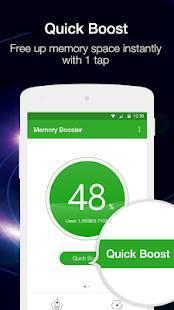 Androidアプリ「メモリブースター(Memory Booster)」のスクリーンショット 3枚目