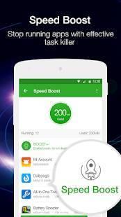 Androidアプリ「メモリブースター(Memory Booster)」のスクリーンショット 4枚目