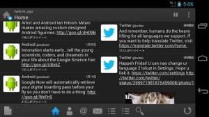 Androidアプリ「twitcle plus」のスクリーンショット 3枚目