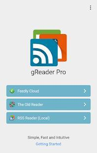 Androidアプリ「gReader Pro | News | RSS」のスクリーンショット 1枚目