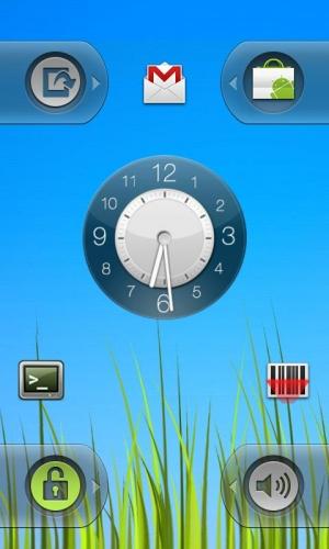 Androidアプリ「WidgetLocker Lockscreen」のスクリーンショット 4枚目