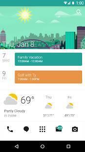 Androidアプリ「Zooper Widget Pro」のスクリーンショット 1枚目