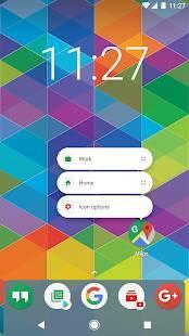 Androidアプリ「Nova Launcher ホーム」のスクリーンショット 1枚目