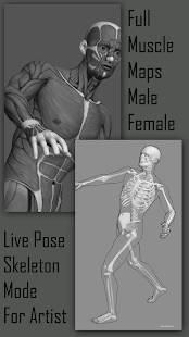 Androidアプリ「Pose Tool 3D」のスクリーンショット 4枚目