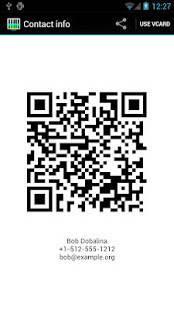 Androidアプリ「QRコードスキャナー+」のスクリーンショット 3枚目