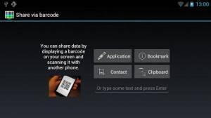 Androidアプリ「QRコードスキャナー+」のスクリーンショット 4枚目