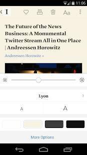 Androidアプリ「Instapaper」のスクリーンショット 3枚目