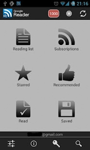 Androidアプリ「D7 Reader Pro (RSS | News)」のスクリーンショット 1枚目