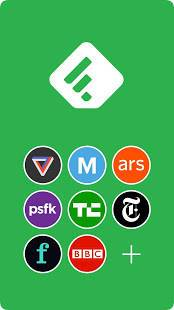 Androidアプリ「Feedly - Smarter News Reader」のスクリーンショット 1枚目