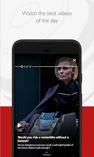 Androidアプリ「BBC News」のスクリーンショット 2枚目
