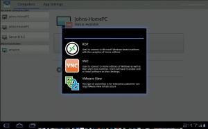 Androidアプリ「PocketCloud リモートデスクトップ RDP/VNC」のスクリーンショット 3枚目