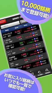 Androidアプリ「HYPER 株アプリ-株価・投資情報 SBI証券の取引アプリ」のスクリーンショット 4枚目