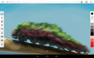 Androidアプリ「SketchBook Pro」のスクリーンショット 1枚目