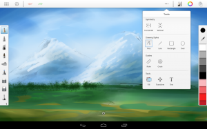 Androidアプリ「SketchBook Pro」のスクリーンショット 3枚目