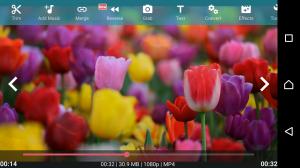 Androidアプリ「AndroVid Pro - ビデオエディタ」のスクリーンショット 1枚目