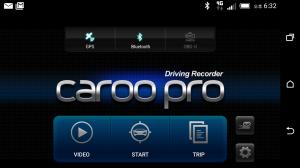 Androidアプリ「カルー(CaroO) プロドライブレコーダー (OBD)」のスクリーンショット 1枚目