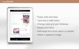 Androidアプリ「ezPDF Reader マルチメディア PDF 筆記 書式」のスクリーンショット 5枚目