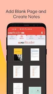 Androidアプリ「ezPDF Reader マルチメディア PDF 筆記 書式」のスクリーンショット 4枚目