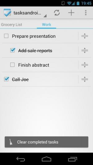 Androidアプリ「Tasks」のスクリーンショット 3枚目
