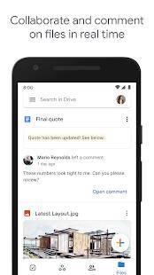 Androidアプリ「Google ドライブ」のスクリーンショット 4枚目