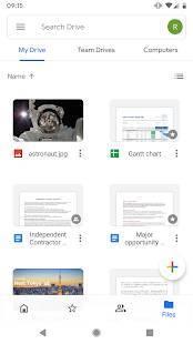 Androidアプリ「Google ドライブ」のスクリーンショット 3枚目