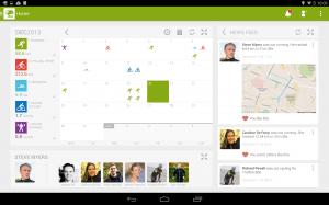 Androidアプリ「Endomondo Sports Tracker PRO」のスクリーンショット 1枚目