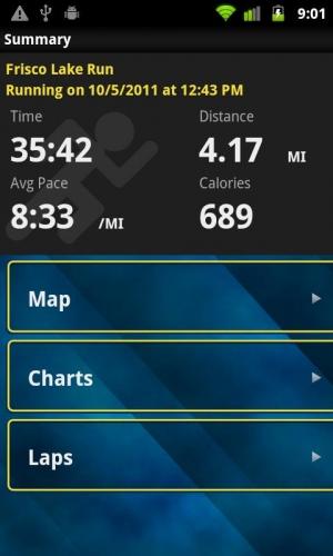 Androidアプリ「Garmin Fit™」のスクリーンショット 5枚目