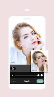 Androidアプリ「Cymera Camera-写真&ビューティーエディタ Beauty Filter, Collage」のスクリーンショット 4枚目