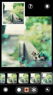 Androidアプリ「BokehPic-お洒落なフィルターで写真加工カメラアプリ!」のスクリーンショット 4枚目