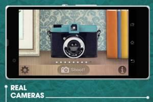 Androidアプリ「Retroカメラ」のスクリーンショット 1枚目
