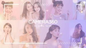 Androidアプリ「カメラ360」のスクリーンショット 1枚目