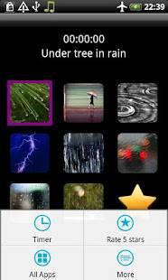 Androidアプリ「雨の音」のスクリーンショット 4枚目