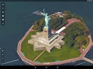 Androidアプリ「Google Earth」のスクリーンショット 4枚目