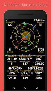 Androidアプリ「GPS Status & Toolbox」のスクリーンショット 1枚目