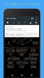 Androidアプリ「GPS Status & Toolbox」のスクリーンショット 2枚目