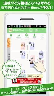 Androidアプリ「名字由来net~日本No.1姓氏解説アプリ 家紋検索 家系図登録80万人突破~」のスクリーンショット 5枚目