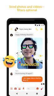 Androidアプリ「Messenger」のスクリーンショット 5枚目