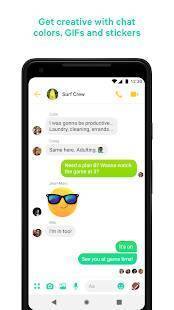 Androidアプリ「Messenger」のスクリーンショット 4枚目
