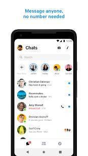 Androidアプリ「Messenger」のスクリーンショット 1枚目