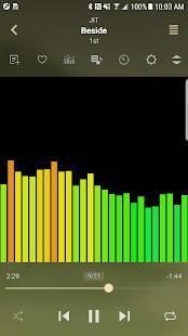 Androidアプリ「ジェットオーディオプラス - 高音質の音楽プレーヤー」のスクリーンショット 4枚目