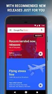 Androidアプリ「Google Playミュージック」のスクリーンショット 3枚目