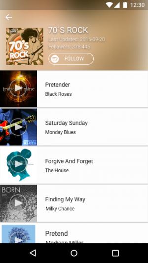 Androidアプリ「TrackID™ - 音楽認識アプリ」のスクリーンショット 3枚目