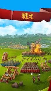 Androidアプリ「エンパイア・フォーキングダム MMORPG」のスクリーンショット 4枚目